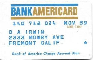 The Original BankAmericard