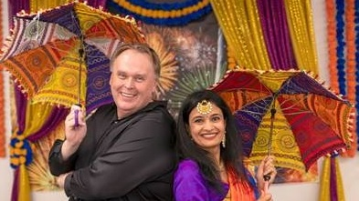 A quick pose with Shreya Shah the mastermind behind our Diwali celebration